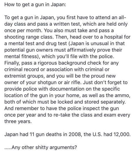 Image result for japan gun laws