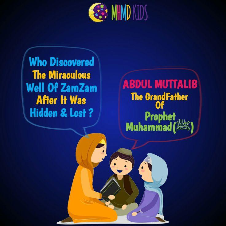 Who Discovered The Miraculous Well Of ZamZam?    #BlessedBirth #Mawlid #Miracle #MHMDKids #IslamicStories #Islam #Quran #Hadith #Allah #Muhammad #MuslimKids #MuslimParents #Makkah #Madina #Muslim #Muslimah #Revert #IslamicQuotes  #Seerah #MHMDQuiz #Islamic #Preschool #School #Playschool #Hyderabad #HomeSchool #HomeSchooling #MuslimHomeSchool