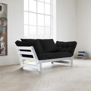 Beat Sofa White Frame Black, 299€, now featured on Fab.