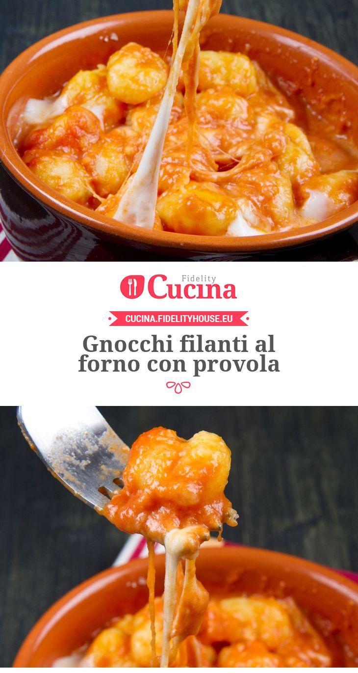 #Gnocchi filanti al forno con #provola