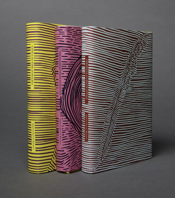 García Márquez Book Covers by María Sanoja, via Behance