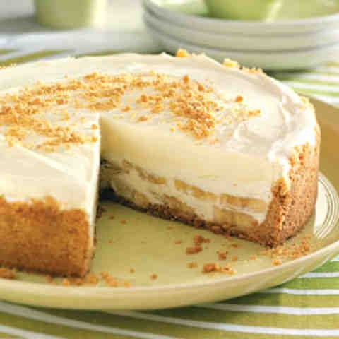 Вкусный банановый торт без выпечки