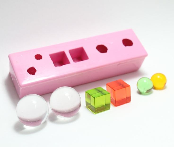 MIX n MATCH Super Silicone Bobble  Mold. $33.00, via Etsy.