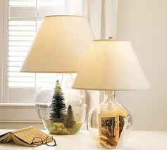 glass lamp filler idea
