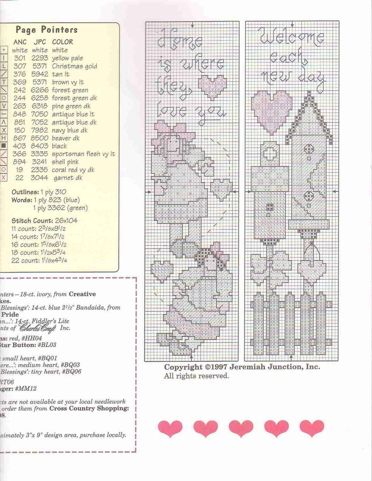 Cross-stitch more country stitching bookmarks, part 2