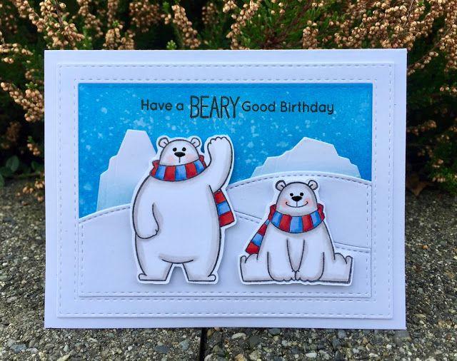 Mocha Frap Scrapper: Beary Good Birthday