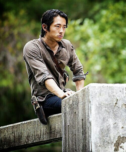 Glenn Rhee the walking dead love him love the walking dead! I need more pins with him on it. I have everyone else but him.