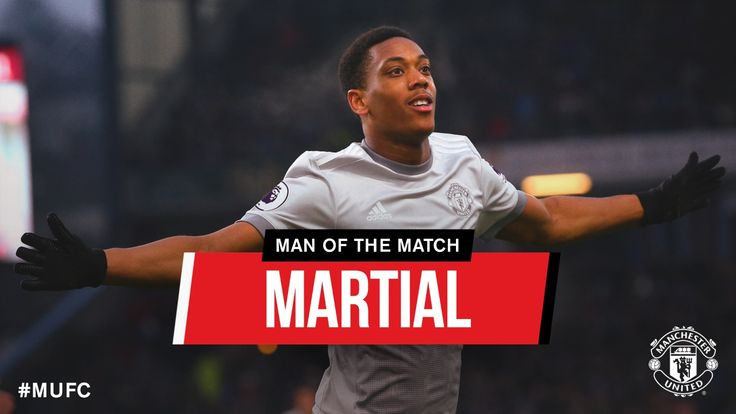 MANCHESTER UNITED SPORT NEWS: MARTIAL IS MAN OF THE MATCH