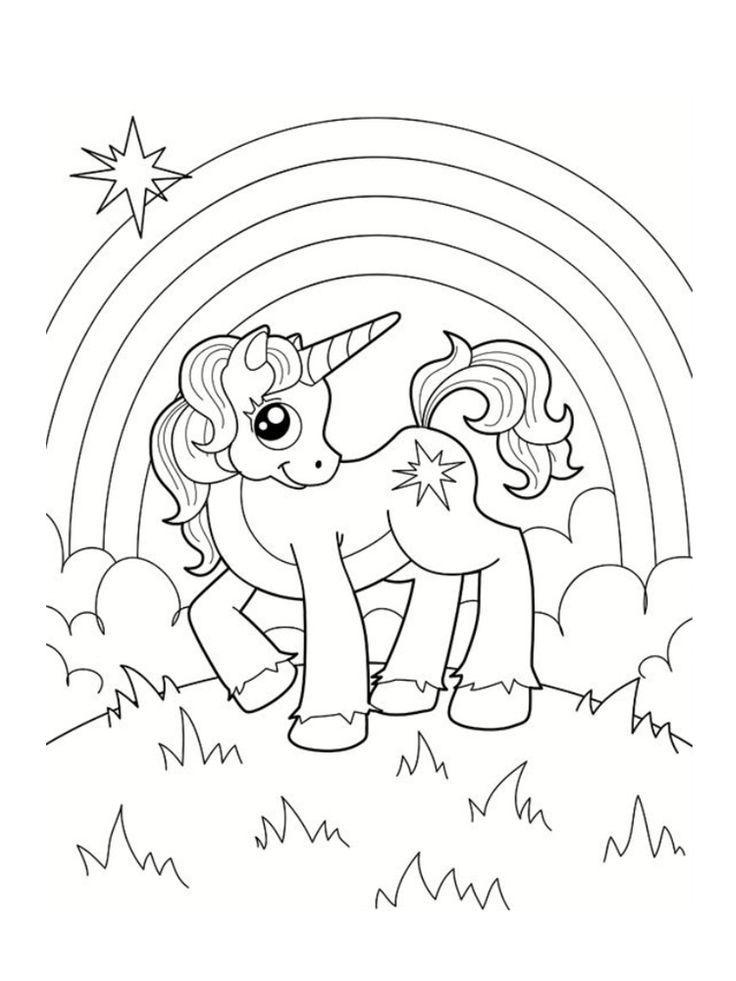Coloriage licorne : 20 modèles à imprimer gratuitement | Licorne coloriage, Dessin licorne à ...