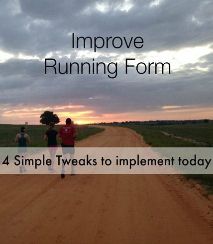 4 Ways to immediately improve your running form