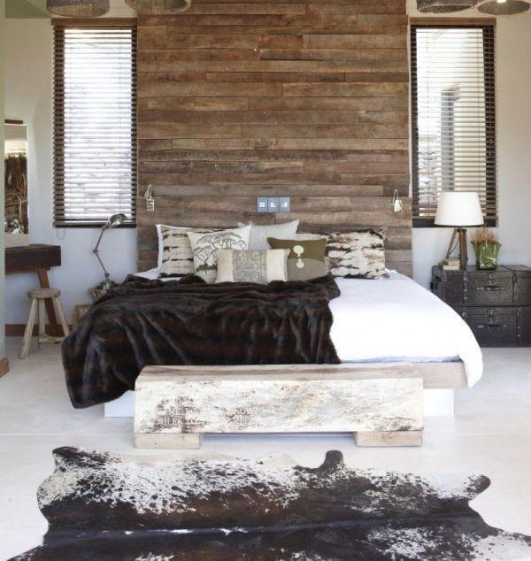 13 besten Rustic Modern Bedrooms Bilder auf Pinterest Wohnideen - schlafzimmer beige wei modern design