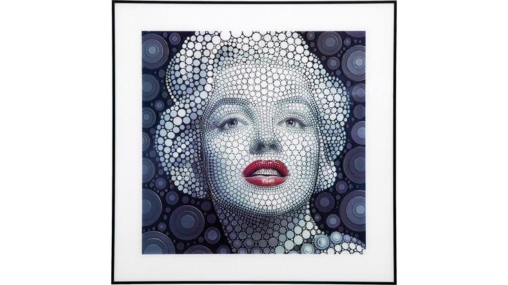 Tableau Marilyn 3D 60x60 cm Kare Design
