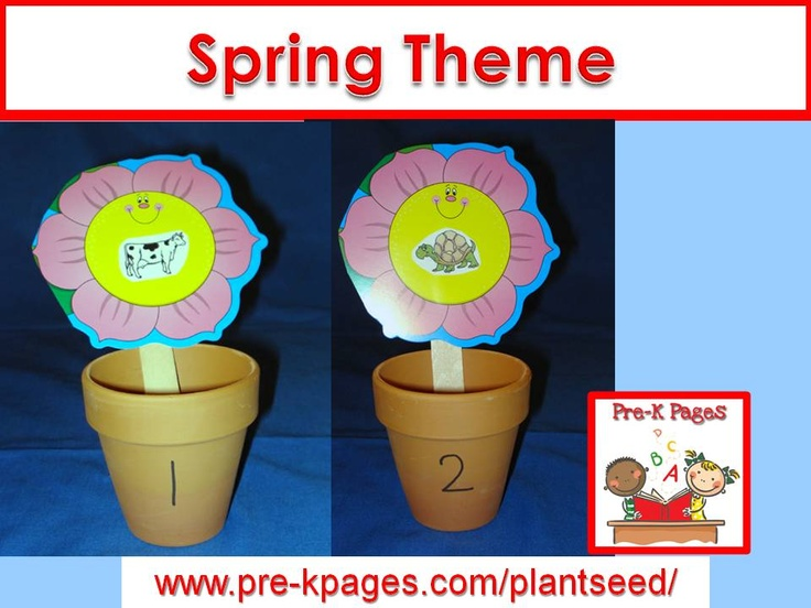 Printable Spring Classroom Decorations ~ Best images about spring activities for preschool on