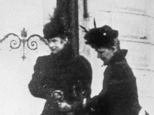 Letztes Foto Der Kaiserin Mit Einer Hofdame In Genf Habsburger