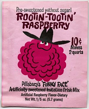 Rootin'-Tootin' Raspberry Funny Face -oh yes!