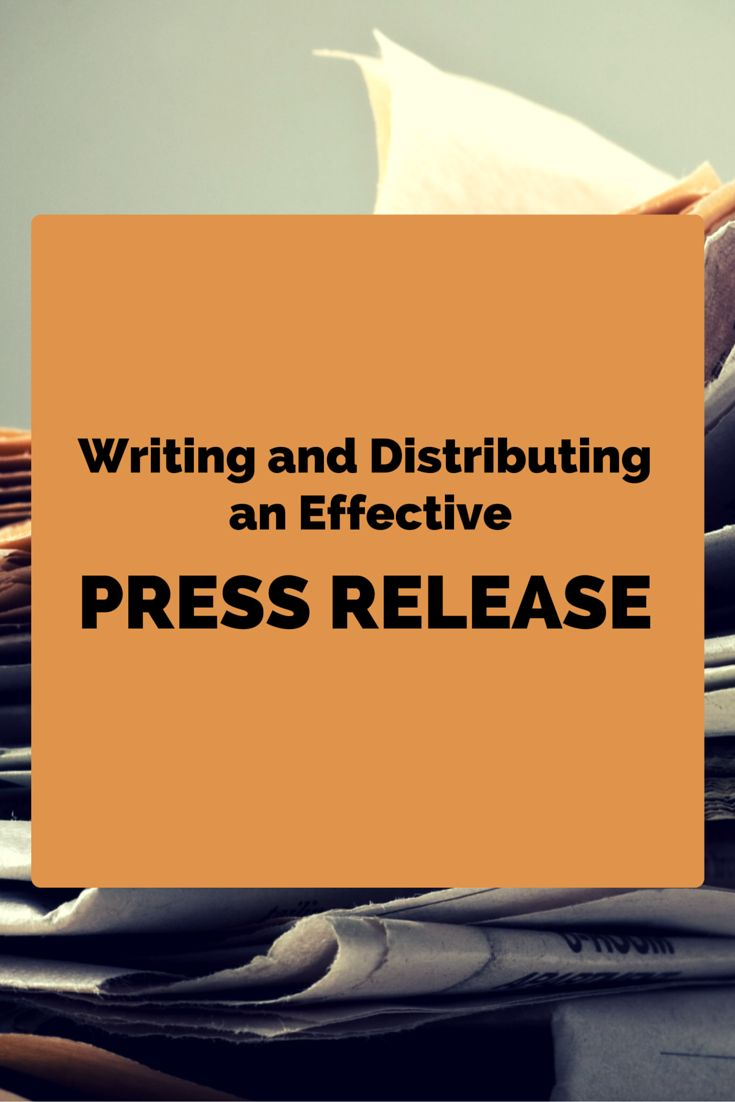 write a press release for free