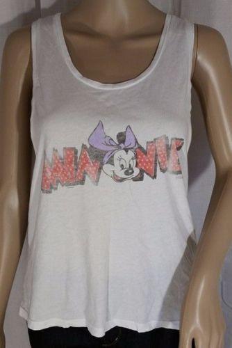 Junk Food Clothing Disney Minnie Mouse Loose Fit Tank - S, M, L