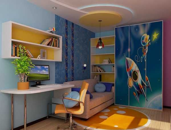 Decorating Young Boy Rooms | Boys Bedroom Decorating Ideas And Blue Room  Decorating Colors