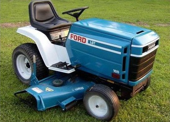 Details about Ford/Jacobsen Garden Tractor Manuals PDF ... on