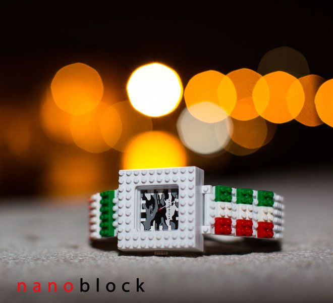 #Italy and #Japan have never been so close each other... #Nanoblock #watch http://tribeatwork.com/en/nanoblock/
