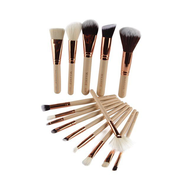 SHARE & Get it FREE | Beauty 15 Pcs Nylon Facial Eye Lip Makeup Brushes SetFor Fashion Lovers only:80,000+ Items • New Arrivals Daily • Affordable Casual to Chic for Every Occasion Join Sammydress: Get YOUR $50 NOW!