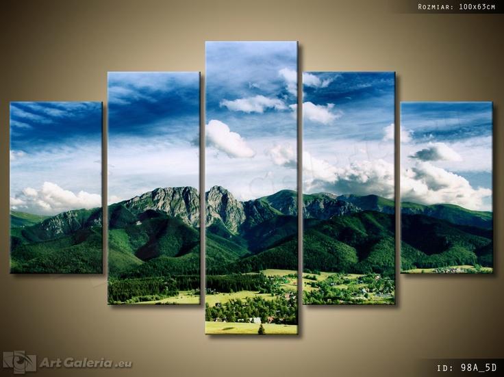 Krajobraz tatrzański