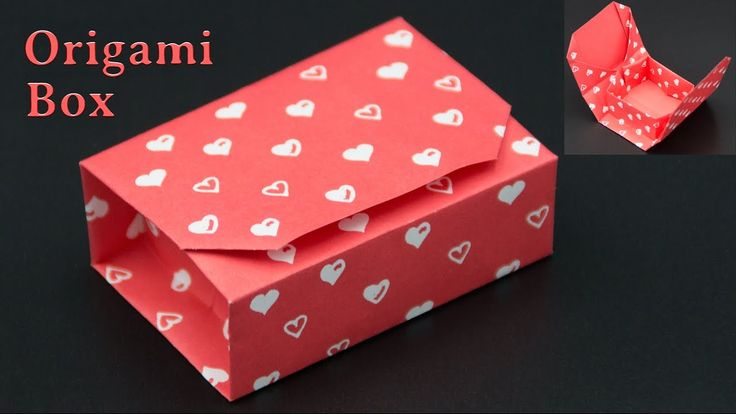 geschenkbox basteln origami box falten diy. Black Bedroom Furniture Sets. Home Design Ideas