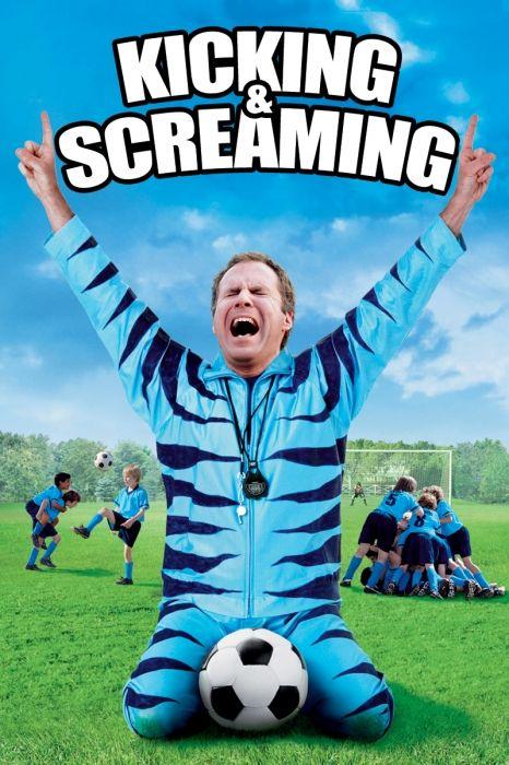 Kicking & Screaming Movie Poster - Will Ferrell, Robert Duvall, Mike Ditka  #KickingScreaming, #MoviePoster, #Comedy, #JesseDylan, #MikeDitka, #RobertDuvall, #WillFerrell