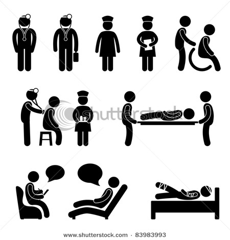 Clinical pictograms