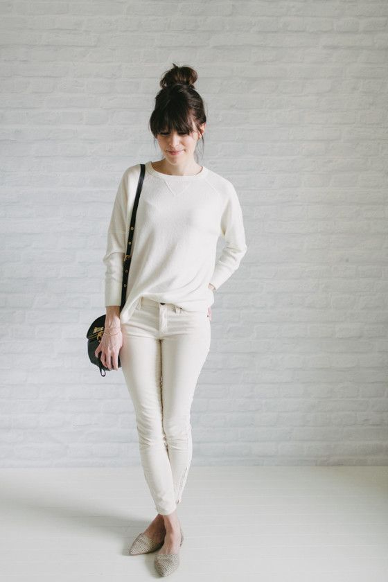 monochrome outfits are my one true love. -from un-fancy (capsule wardrobe ideas)