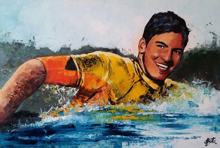 Gabriel Media - Acrylic on Canvas 100x150cm