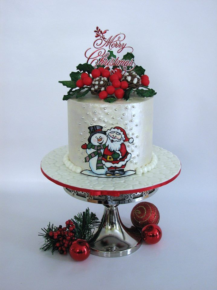 Decorating Christmas Cake Mary Berry : Best images about christmas food ideas on