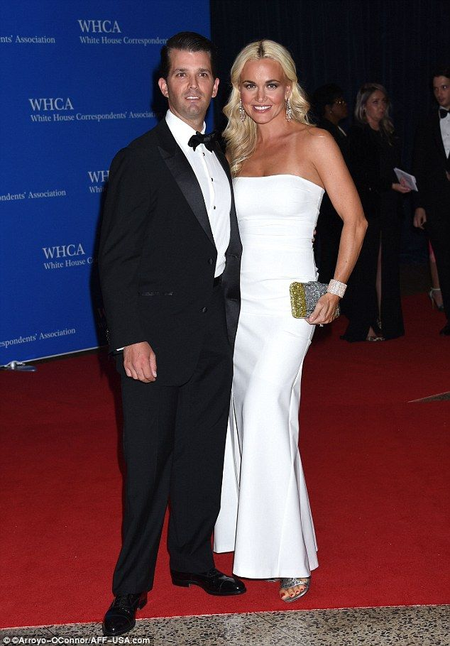 Donald Trump Jr, 38, also came with his wife Vanessa. She told ...