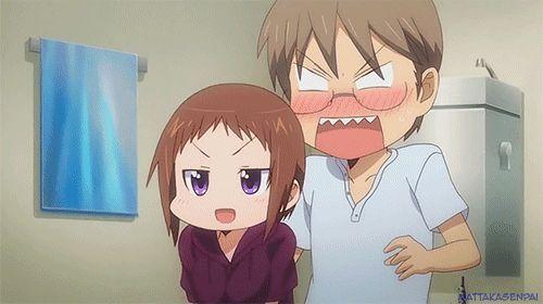 Okusama ga Seitokaichou!, Ui Wakana and Hayato Izumi