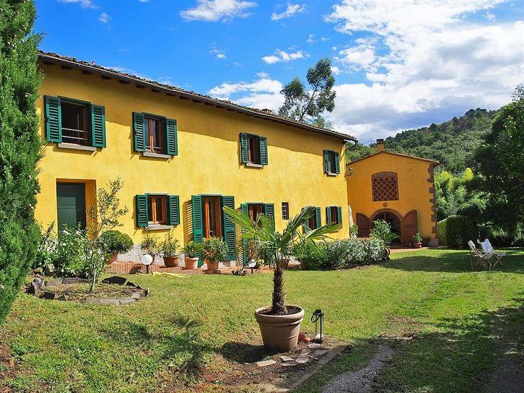 Holiday Villa in San Baronto, Nr. Lamporecchio, Pistoia Province, Tuscany and Florence, Italy IT14448