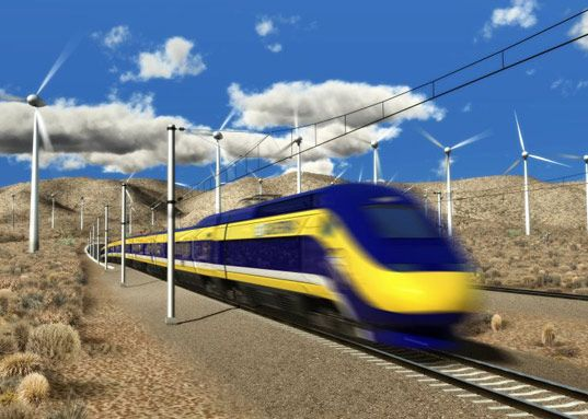 FLY California high speed train - YES!!