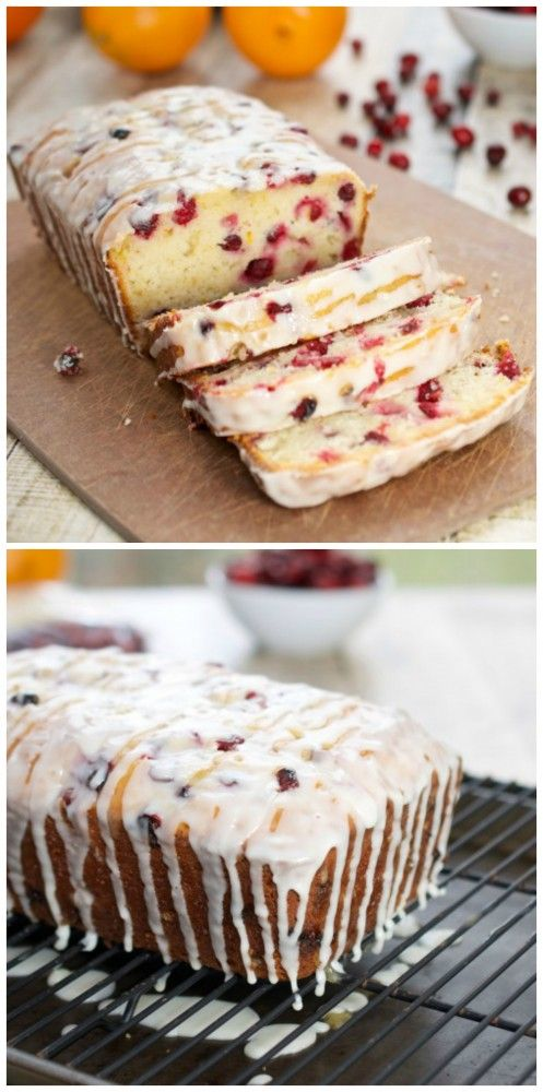 Orange-Cranberry Yogurt Loaf…one of my favorite breads to make!