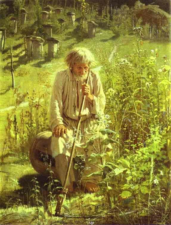 Ivan Kramskoy. Bee-Keeper. 1872