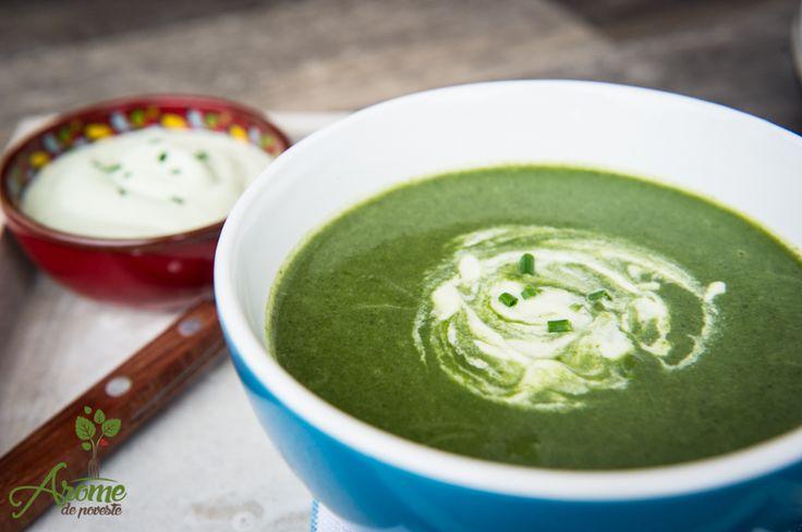 Supa crema de spanac si broccoli (1)