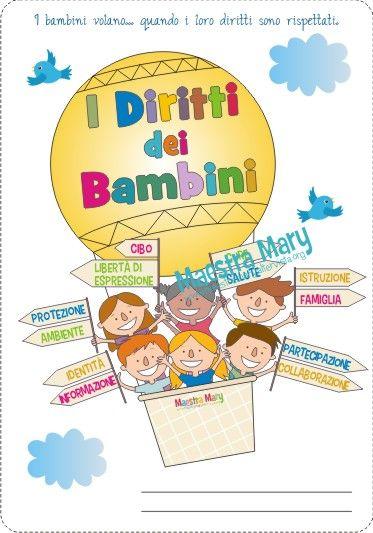 Oltre 25 fantastiche idee su copertina su pinterest for Maestra gemma diritti dei bambini