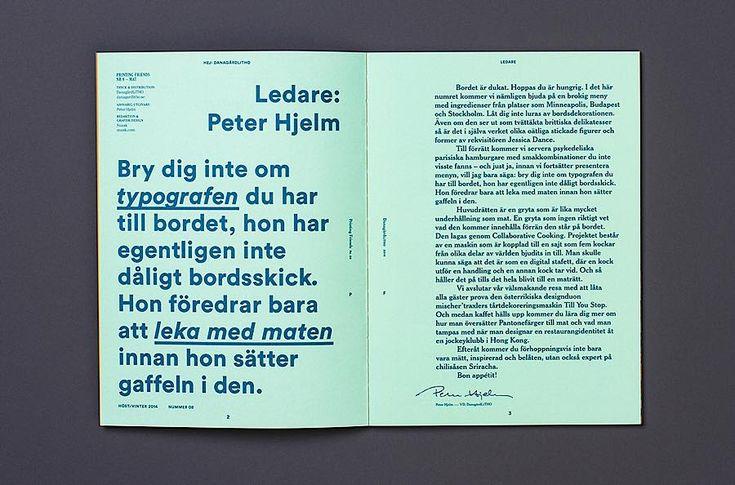 Editorial Design Inspiration: Printing Friends Magazine (scheduled via http://www.tailwindapp.com?utm_source=pinterest&utm_medium=twpin&utm_content=post12990832&utm_campaign=scheduler_attribution)