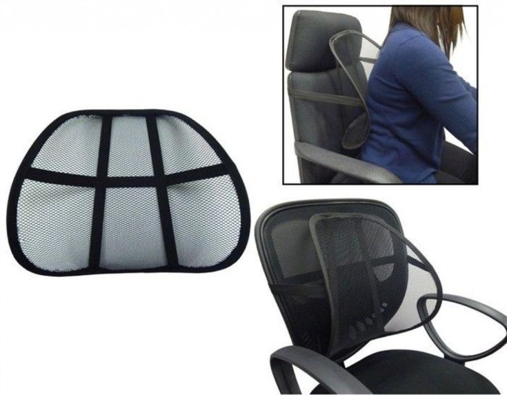 Lower Back Support Pillow for Office Chair - Expensive Home Office Furniture Check more at http://invisifile.com/lower-back-support-pillow-for-office-chair/