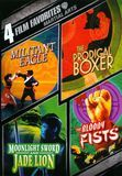 Martial Arts: 4 Film Favorites [2 Discs] [DVD], 117434