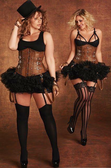 Steampunk plus size Halloween costumes