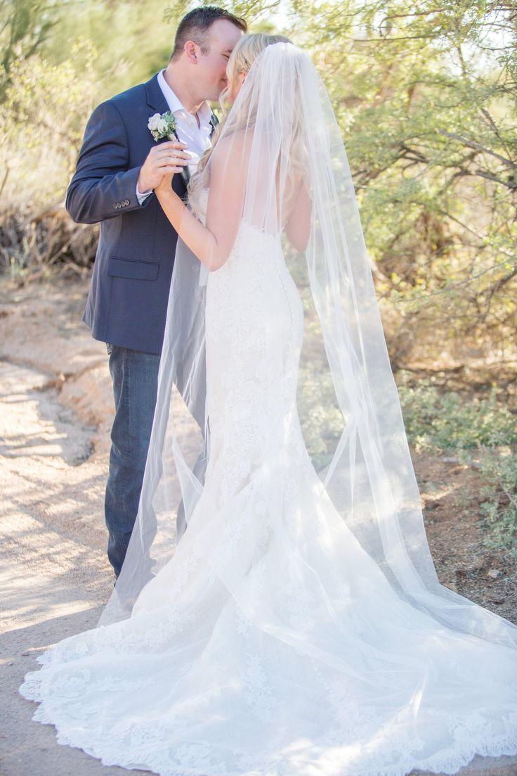 Pronovias wedding gown. Scottsdale outdoor country wedding.