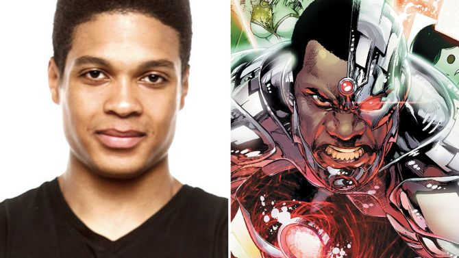 Cyborg is added to the new Batman Superman movie He will be played by Ray Fisher.