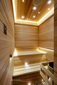 Sauna Modern Design