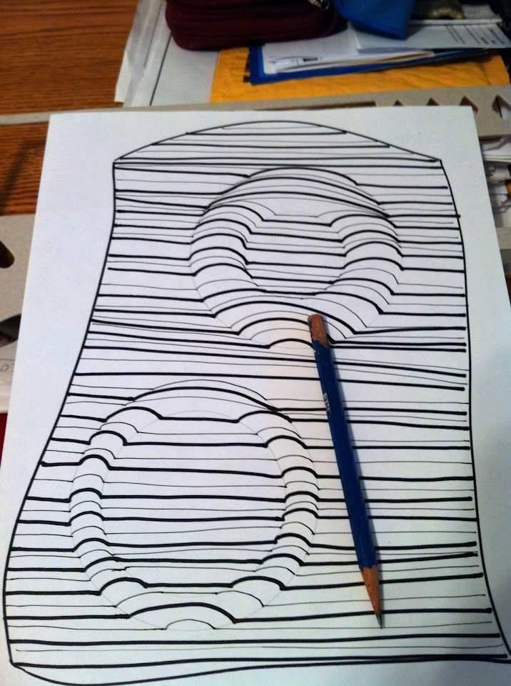Easy 3d Line Drawings : Best art lesson ideas op images on pinterest