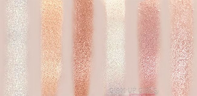 Review and swatches of BH Cosmetics Spotlight Highlight Palette.