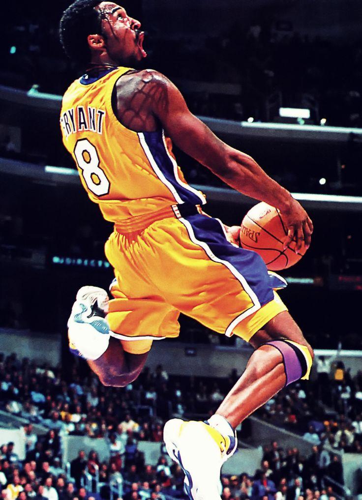Kobe Bryant. Laker game
